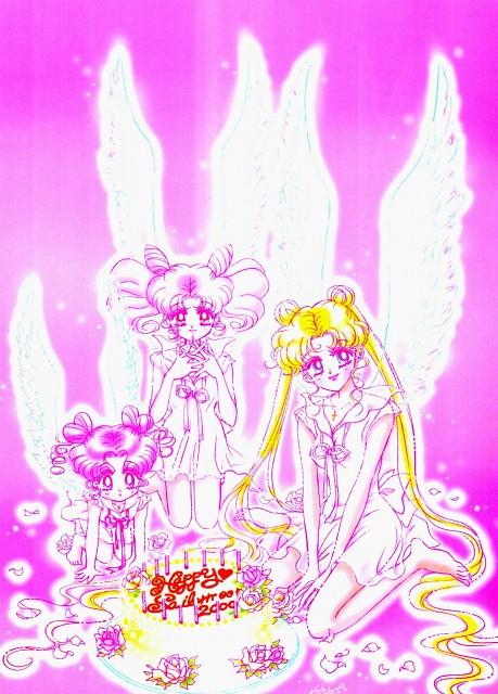Naoko Takeuchi, Bishoujo Senshi Sailor Moon, Usagi Tsukino, Chibi Chibi, Chibi Usa