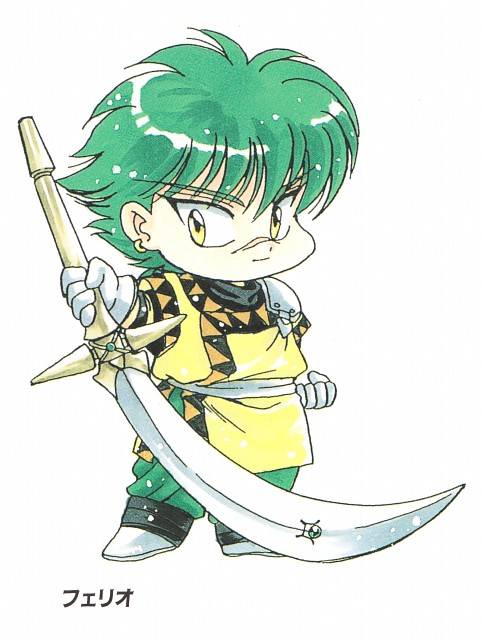 CLAMP, TMS Entertainment, Magic Knight Rayearth, Ferio
