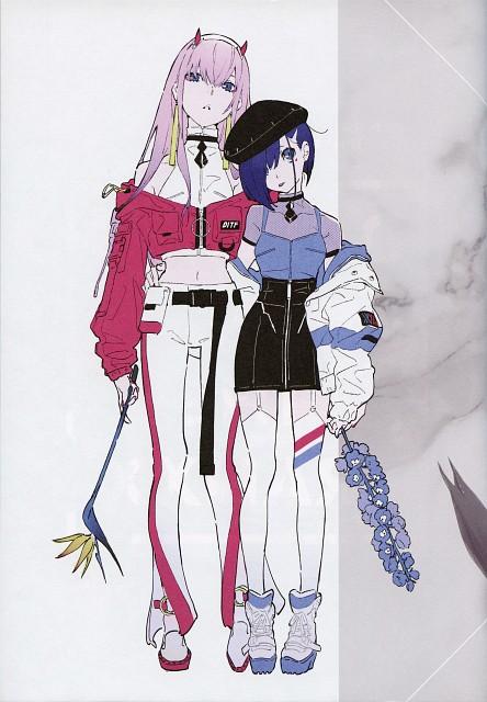 Masayoshi Tanaka, Mai Yoneyama, Trigger (Studio), A-1 Pictures, Darling in the FranXX