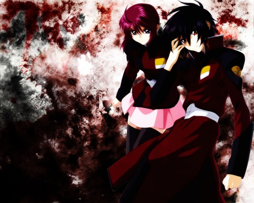 Sunrise (Studio), Mobile Suit Gundam SEED Destiny, Lunamaria Hawke, Shinn Asuka Wallpaper