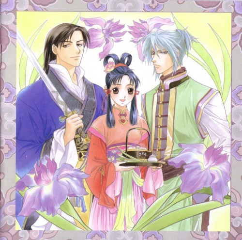 Kairi Yura, Madhouse, Saiunkoku Monogatari, Shuurei Kou, Kouyu Li