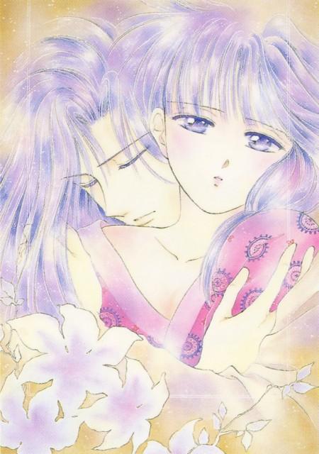 Yuu Watase, Fushigi Yuugi, Watase Yuu Illustration Collection: Fushigi Yuugi, Hotohori, Miaka Yuuki