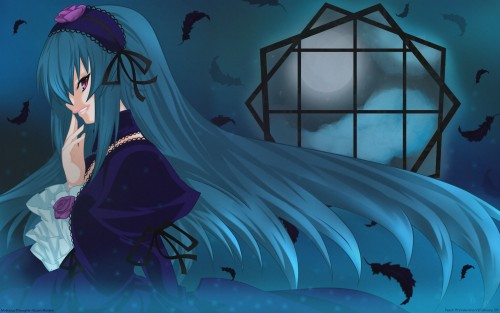 Ryo (Metamor), Rozen Maiden, Suigintou, Doujinshi, Vector Art Wallpaper
