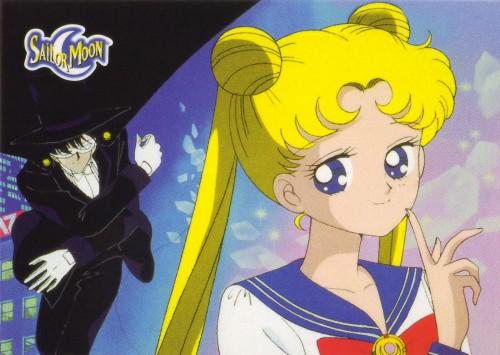 Toei Animation, Bishoujo Senshi Sailor Moon, Tuxedo Kamen, Usagi Tsukino, Album Cover