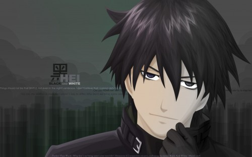 Yuji Iwahara, BONES, Darker than Black, Hei Wallpaper