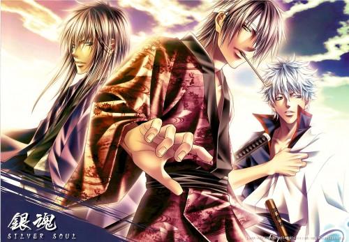 Aiki Ren, Gintama, Gintoki Sakata, Kotaro Katsura, Shinsuke Takasugi
