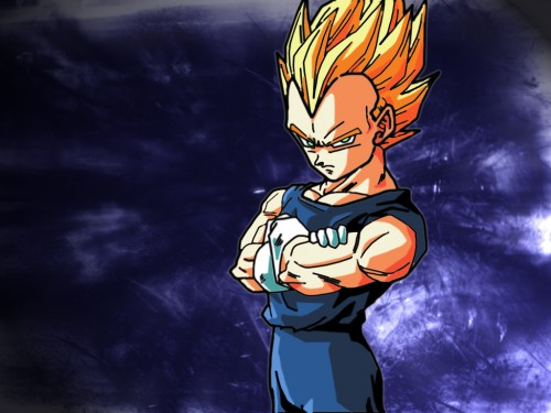 Akira Toriyama, Toei Animation, Dragon Ball, Super Saiyan Vegeta Wallpaper