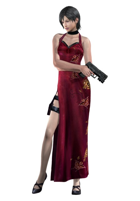 Capcom, Resident Evil 4, Ada Wong, Official Digital Art
