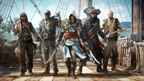 Ubisoft, Assassin's Creed IV, Jack Rackham, Edward Thatch, Adéwalé