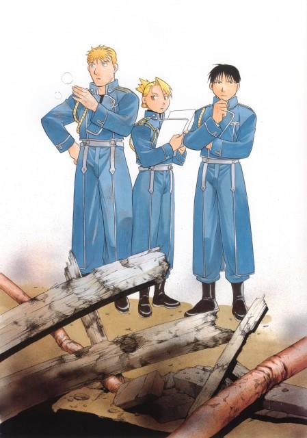 Hiromu Arakawa, BONES, Fullmetal Alchemist, Fullmetal Alchemist Artbook Vol. 2, Riza Hawkeye