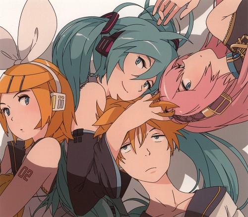 Atsuya Uki, Vocaloid, Luka Megurine, Len Kagamine, Rin Kagamine