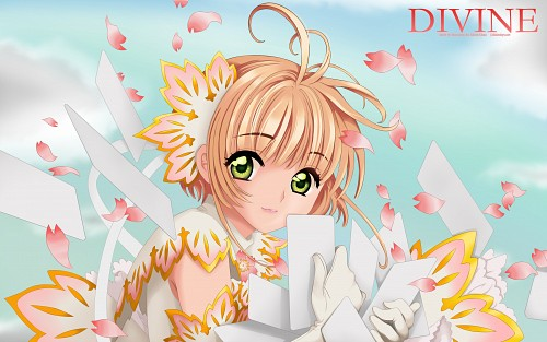CLAMP, Cardcaptor Sakura, Sakura Kinomoto, Vector Art Wallpaper