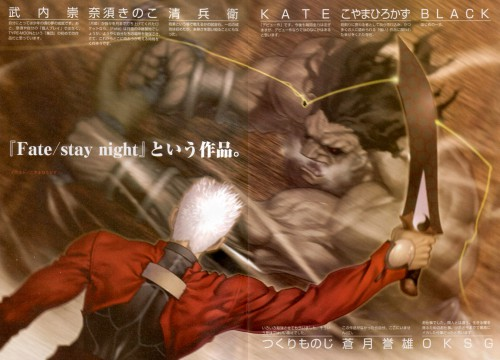 TYPE-MOON, Fate/stay night, Archer (Fate/stay night), Berserker (Fate/stay night)