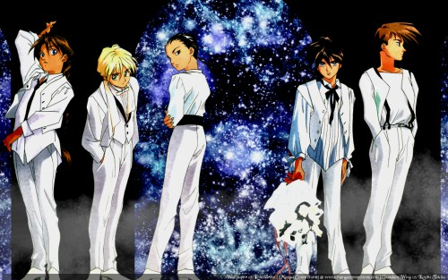 Sunrise (Studio), Mobile Suit Gundam Wing, Duo Maxwell, Quatre Raberba Winner, Chang Wufei Wallpaper
