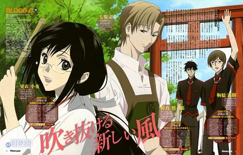 Shinji Itadaki, Production I.G, BLOOD-C, Itsuki Tomofusa, Saya Kisaragi