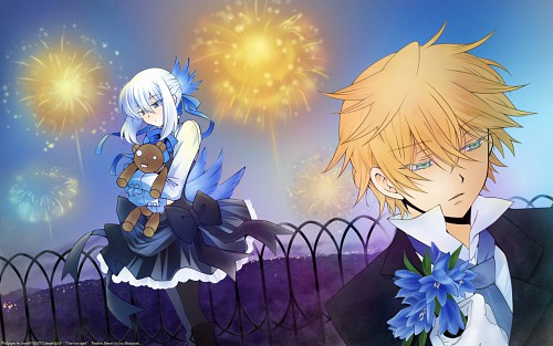 Jun Mochizuki, Xebec, Pandora Hearts, Oz Vessalius, Echo Wallpaper