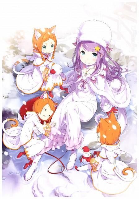 Shinichiro Otsuka, White Fox, Re:Zero, Re:Zero Ootsuka Shinichirou Art Works, Mimi Pearlbaton