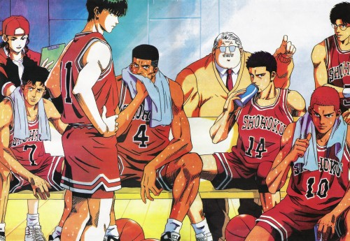 Takehiko Inoue, Slam Dunk, Ryota Miyagi, Mitsuyoshi Anzai, Kaede Rukawa
