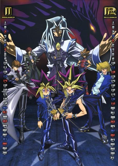 Kazuki Takahashi, Studio Gallop, Yu-Gi-Oh Duel Monsters, Yu-Gi-Oh 2004 Calendar, Seto Kaiba