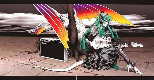 Nagimiso, Vocaloid, Miku Hatsune, Waifu, Album Cover