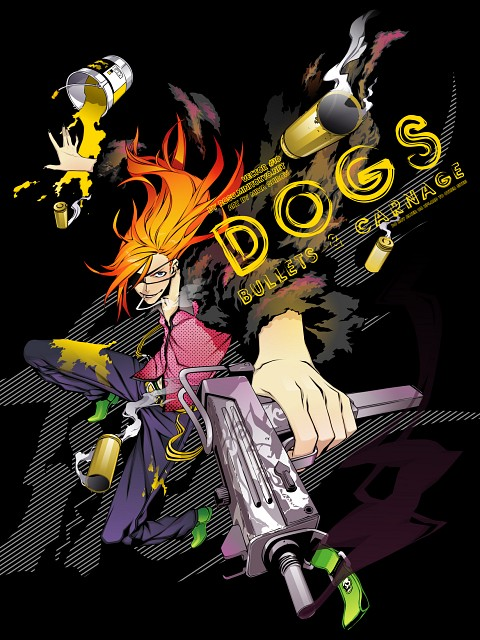 Miwa Shirow, Dogs: Bullets and Carnage, Badou Nails, Vector Art