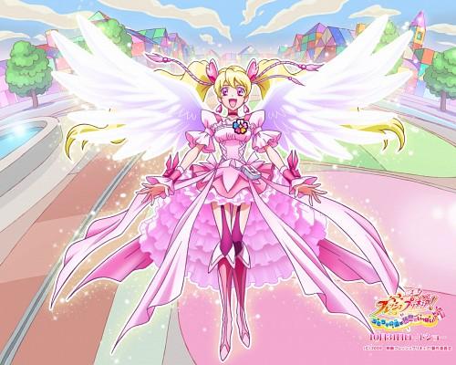 Toei Animation, Fresh Precure!, Cure Peach, Official Wallpaper