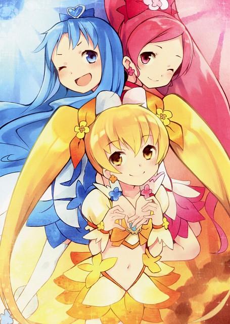 Kyuri, HeartCatch Precure!, Girls Log Vol. 3, Cure Blossom, Cure Sunshine