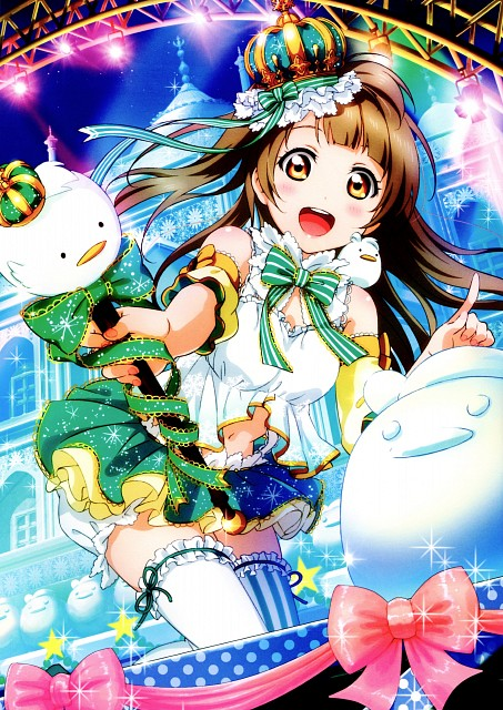 Sunrise (Studio), School Idol Festival Official Illustration Book, Love Live! School Idol Project, Kotori Minami