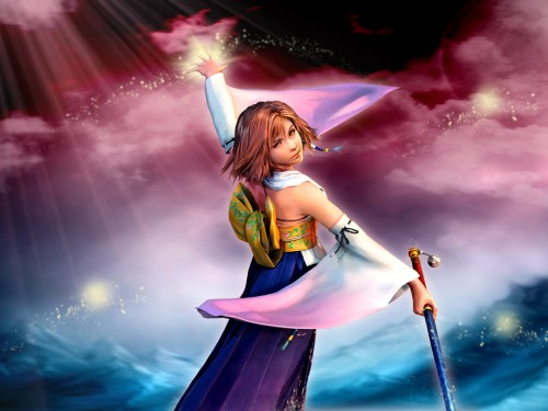 Square Enix, Final Fantasy X, Yuna Wallpaper
