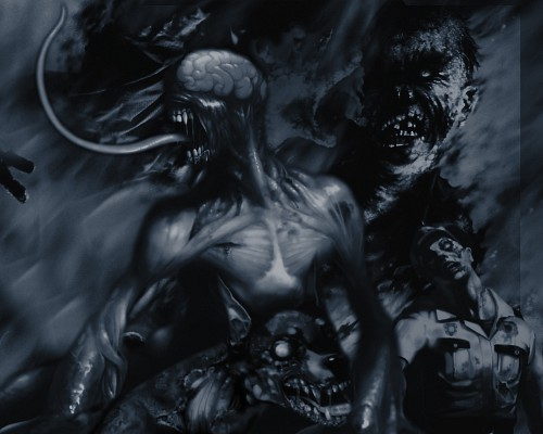 Capcom, Resident Evil 2, Official Digital Art