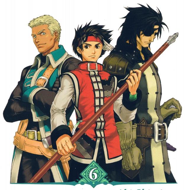 Aki Shimizu, Konami, Suikoden III, Geddoe, Wyatt Lightfellow