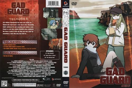 Gonzo, GAD Guard, Takumi Kisaragi, Aiko Mary Harmony, DVD Cover