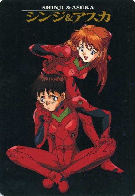 Yoshiyuki Sadamoto, Neon Genesis Evangelion, Shinji Ikari, Asuka Langley Soryu