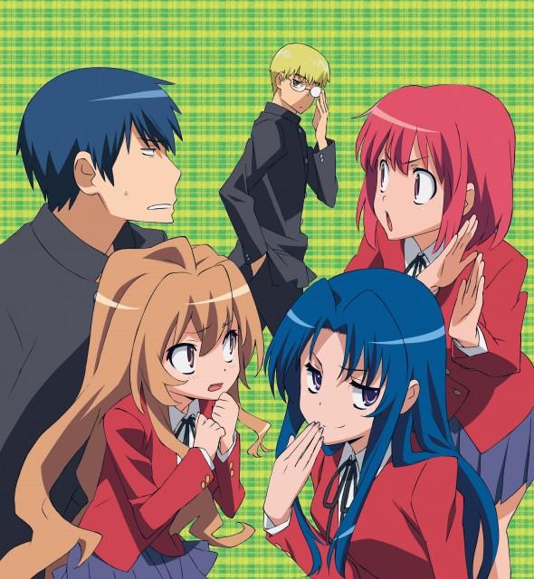 Toradora!, Taiga Aisaka, Ryuuji Takasu, Minori Kushieda, Yusaku Kitamura