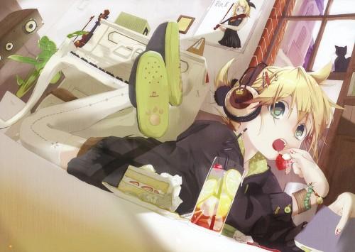 Hekicha, CV02 Kagamine Rin/Len, Vocaloid, Rin Kagamine, Len Kagamine