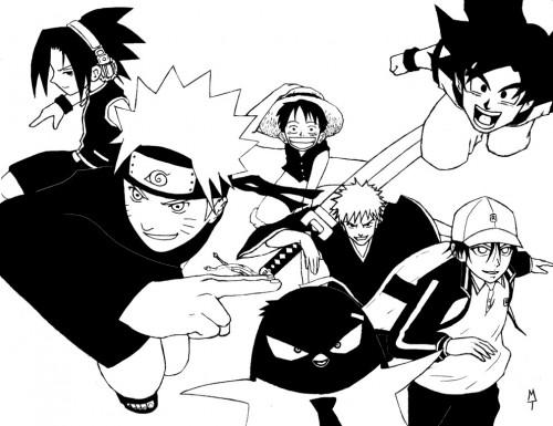 Akira Toriyama, Toei Animation, Naruto, One Piece, Prince of Tennis