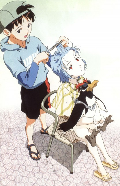 Yoshiyuki Sadamoto, Neon Genesis Evangelion, Die Sterne, Pen Pen, Rei Ayanami