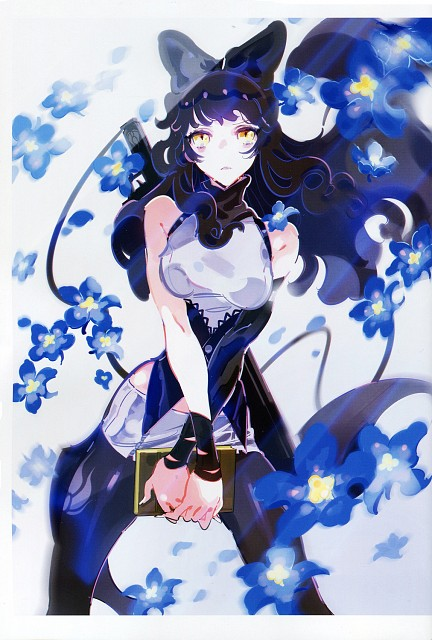 Mari Shimazaki, RWBY, RWBY Volume 1 Official Japanese Fan Book, Blake Belladonna, Comic Market 87