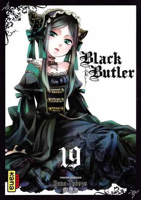 Yana Toboso, A-1 Pictures, Kuroshitsuji, Sieglinde Sullivan, Manga Cover