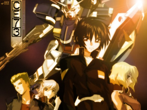 Sunrise (Studio), Mobile Suit Gundam SEED Destiny, Shinn Asuka, Sting Oakley, Auel Neider Wallpaper