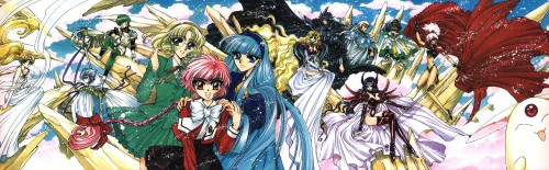 CLAMP, TMS Entertainment, Magic Knight Rayearth, Magic Knight Rayearth Illustrations Collection, Fuu Hououji
