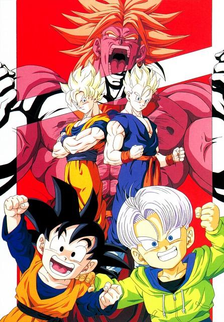 Akira Toriyama, Toei Animation, Dragon Ball, Son Goten, Super Saiyan Gohan