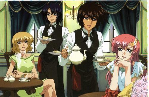 Sunrise (Studio), Mobile Suit Gundam SEED Destiny, Athrun Zala, Cagalli Yula Athha, Lacus Clyne