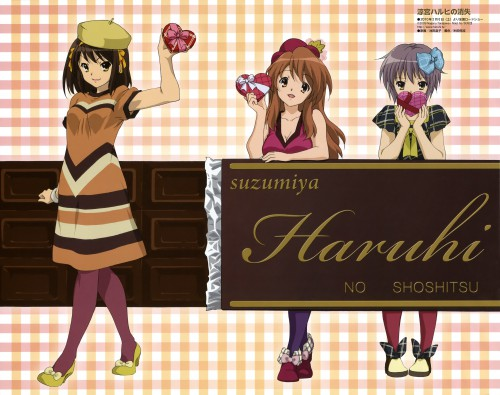 Shouko Ikeda, Kyoto Animation, The Melancholy of Suzumiya Haruhi, Mikuru Asahina, Yuki Nagato