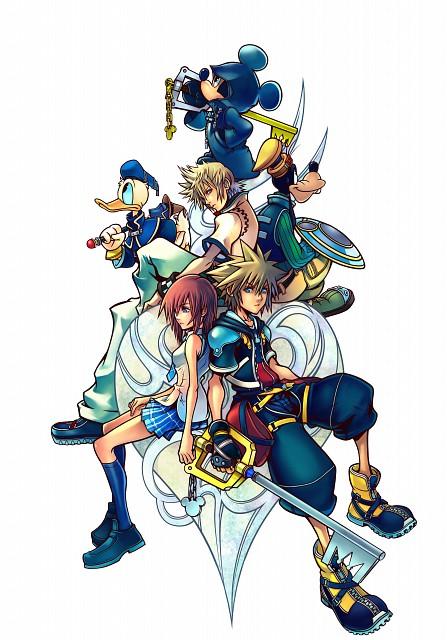 Square Enix, Kingdom Hearts, Roxas, Goofy, Sora