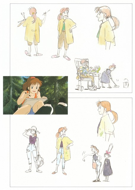 Hayao Miyazaki, Studio Ghibli, Kiki's Delivery Service, The Art of Kiki's Delivery Service, Ursula (Kiki's Delivery Service)