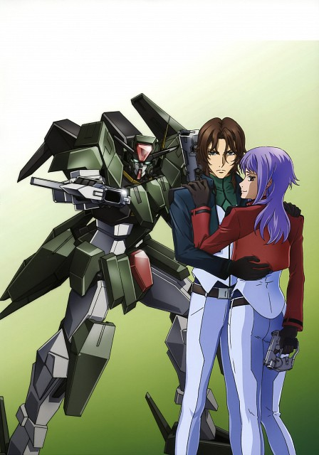 Sunrise (Studio), Mobile Suit Gundam 00, Mobile Suit Gundam 00 Illustrations Innovation, Lockon Stratos, Anew Returner
