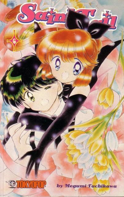 Megumi Tachikawa, Saint Tail, Daiki Asuka, Meimi Haneoka, Manga Cover