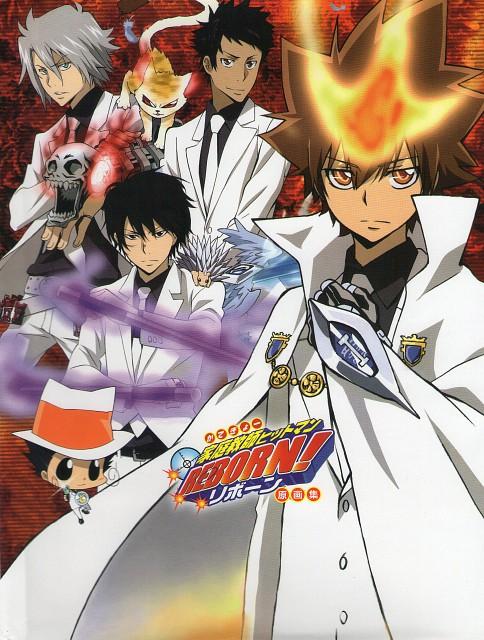 Akira Amano, Katekyo Hitman Reborn!, Tsunayoshi Sawada, Kyoya Hibari, Roll (Katekyo Hitman Reborn!)