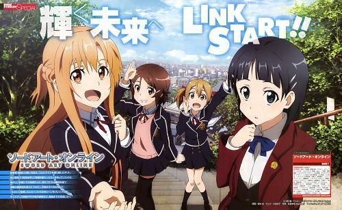 Naru Homura, A-1 Pictures, Sword Art Online, Asuna Yuuki, Keiko Ayano